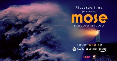 """Riccardo Inge, fuori il nuovo singolo """"Mose"""""""