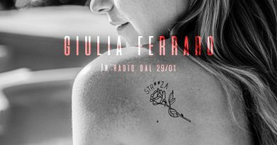 """Giulia Ferraro, disponibile in radio e in digitale """"STR**ZA"""""""